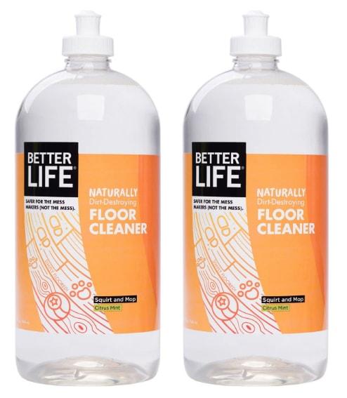 Better Life Naturally Dirt-Destroying Floor Cleaner