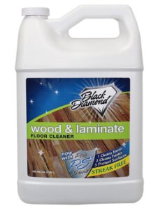 Black Diamond Wood and Laminate Floor Cleaning Product