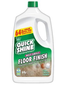 Quick Shine Multi-Surface Floor Finish and Polish