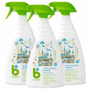 Babyganics Floor Cleaner Concentrate, Fragrance-Free