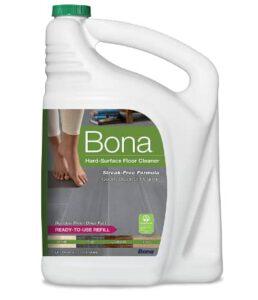 Bona Hard-Surface Floor Cleaner Refill- vinyl flooring cleaner