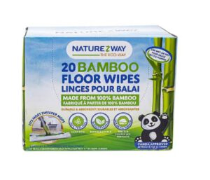 NatureZway Bamboo Floor Cleaning Wipes