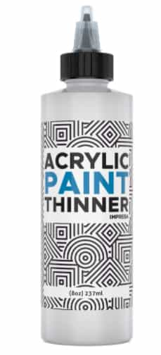 Acrylic Paint Thinner for Slow Drying