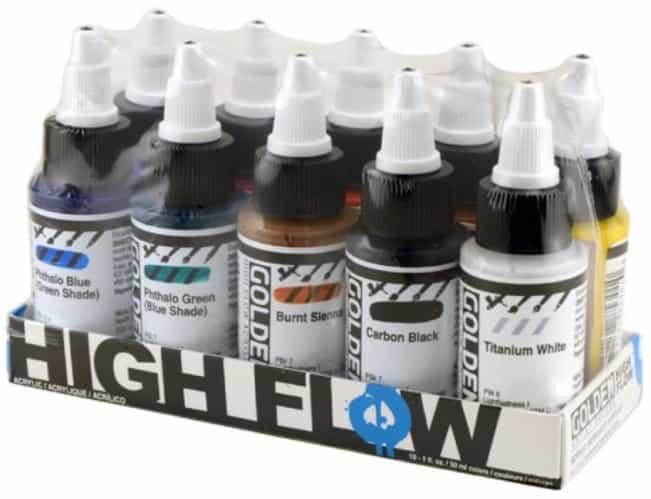 Best ultra blue: Golden High Flow Acrylic Cleaner