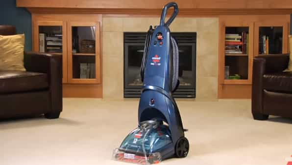 How to operate bissell carpet cleaner